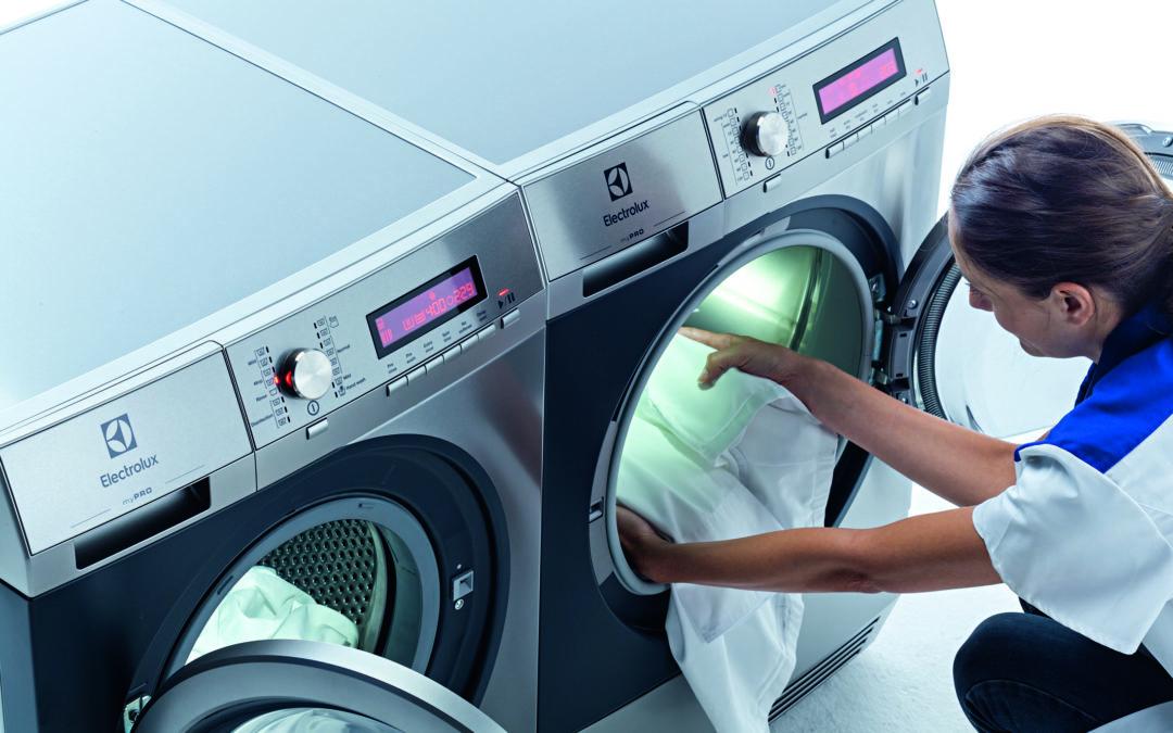 Wäschewaschen ist für viele Berufsalltag