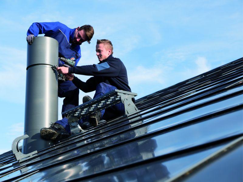 Spezialisten der Metallverarbeitung sorgen für moderne Haustechnik