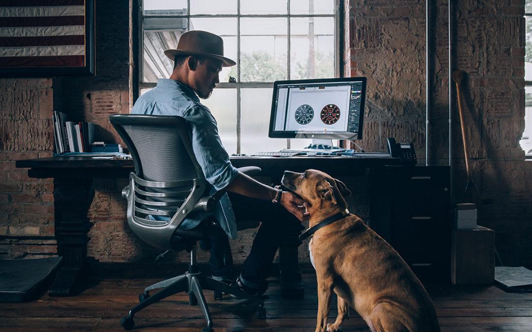 Bürohund: Der beste Freund des Menschen am Arbeitsplatz