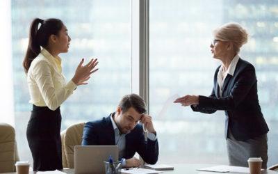 Konflikte am Arbeitsplatz: Gibt der Klügere nach?