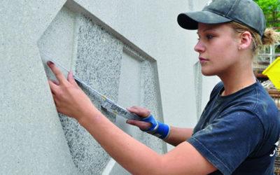 Mitmischen im Betonhandwerk